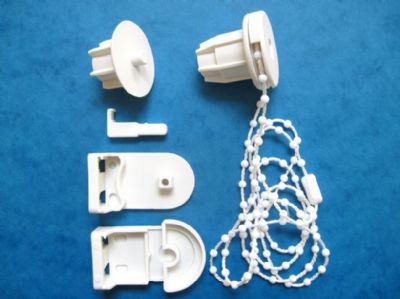 "28MM DELUXE STRONGER PLASTIC ROLLER BLIND REPAIR KIT FOR 28MM(1 1/8"") EXTERNAL DIAMETER TUBE"